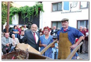 Eröffnung der Rotweinkerb
